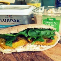 JamJarGill: Meatless Monday: wk43: Lunch: Pumpkin Falafel