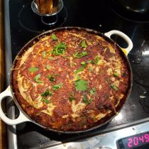 Tortilla Bake Finished Dish