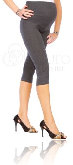 1st Outfit: Cropped Very Comfortable Maternity Cotton Leggings 3/4 Length (eBay)