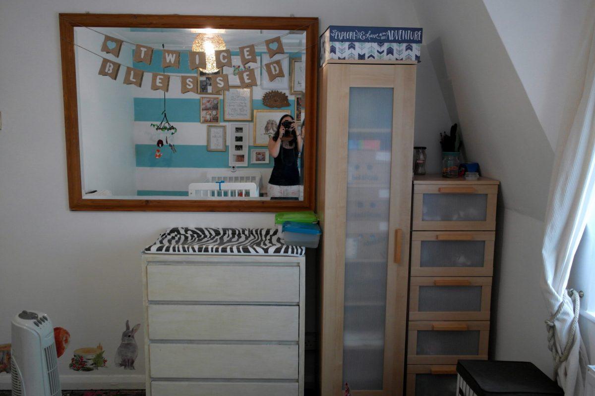 LITTLE GHERKINS: Eclectic Woodland Twin Nursery Reveal!