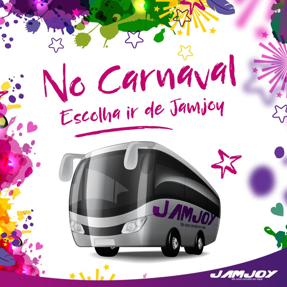 No Carnaval escolha ir de Jamjoy