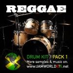 Reggae Drum Kit Pack 1