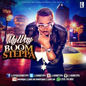 Boom Steppa-May Way EP cover