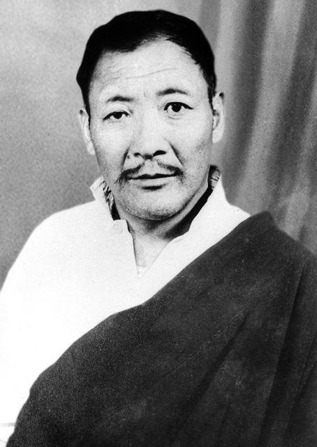 Gompo Tashi Andrugtsang (1905 - 1964) © Jamyang Norbu