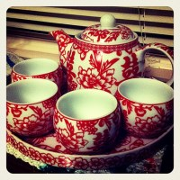 Tea Set For Our Chinese Wedding Tea Ceremony