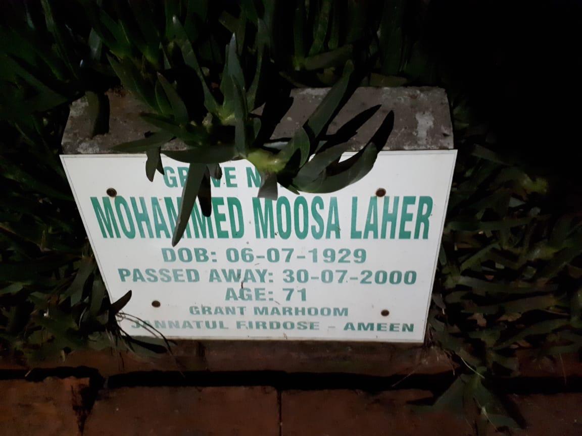 Mohammed Laher Springs (MotaBawa) 30 July 2007