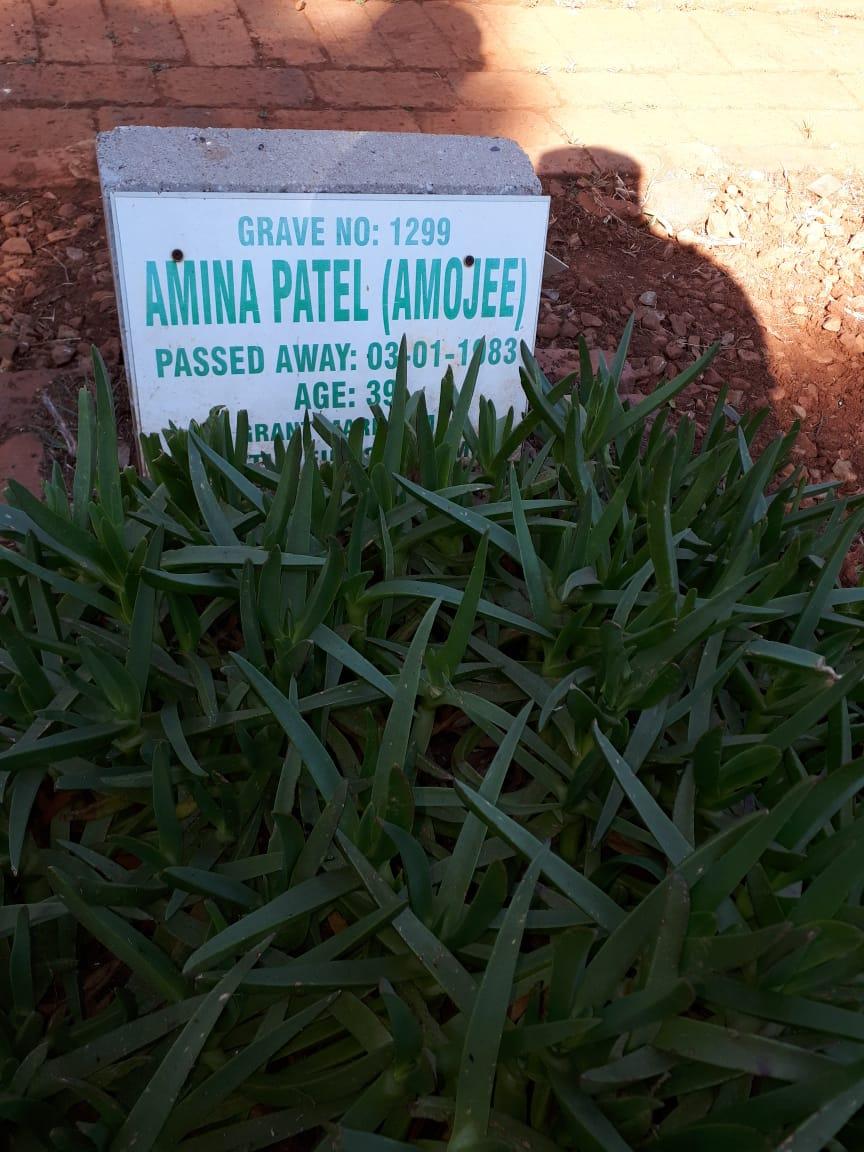 Amina Patel Amojee (AminaFoi)  Jan 3, 1983