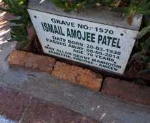 Ismail Amojee Patel Aug 8, 2014