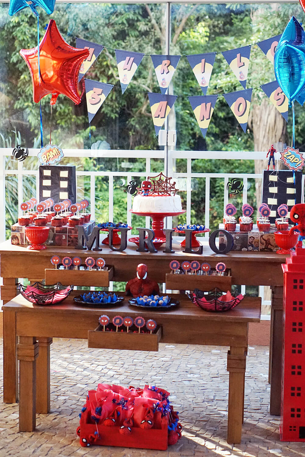 Festa Spiderman 3 Anos