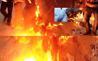 How many hearts of the birth parents cried: wife was burnt to death for not bringing dowry