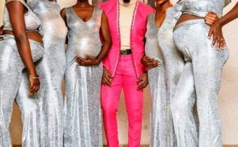 Socialite, Pretty Mike storms Williams Uchemba's wedding with his squad of 6 pregnant baby mamas 3