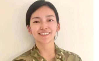 Nepal's Anshu Gurung Becomes British Gurkha Army Captain
