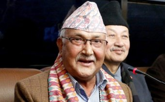 happy kp oli