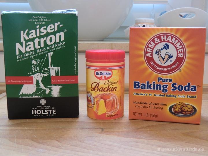 Der Unterschied zwischen Backpulver, Baking Soda und Natron
