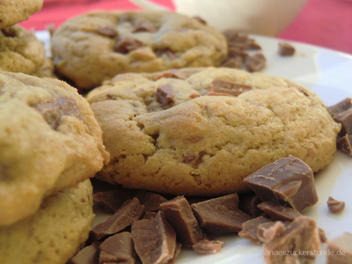 beste Amerikanische Chocolate Chip Cookies