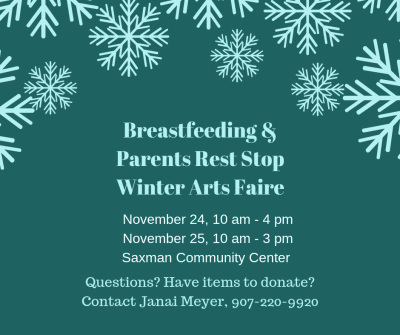 Breastfeeding & Parents Rest Stop / Winter Arts Faire