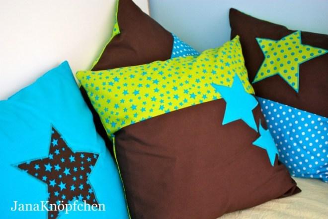 Kissen Genäht Für Die Kuschelecke Im Kinderzimmer