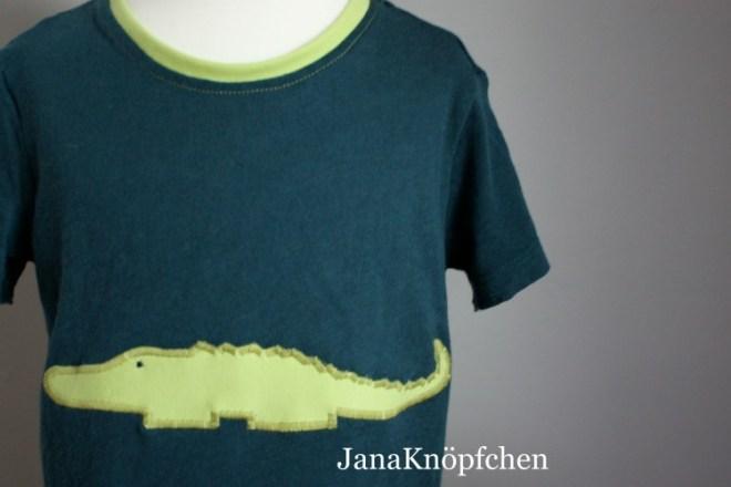 Upcycling T-Shirt: aus altem Schwangerschaftshirt ein neues T-Shirt für das Kind nähen. JanaKnöpfchen - Nähen für Jungs