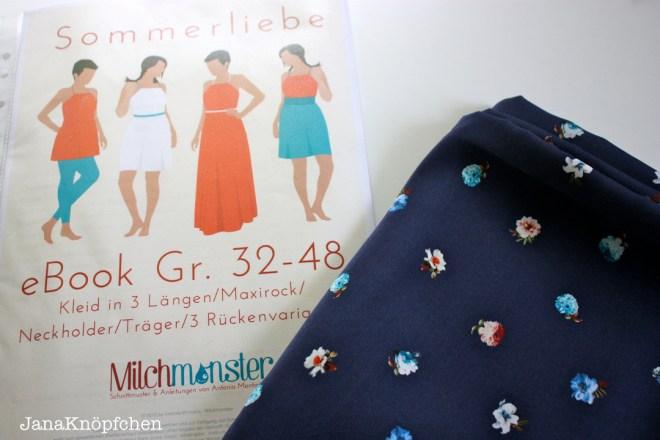 stoffundstil haul - kleid sommerliebe von das milchmonster - janaknöpfchen. nähen für jungs