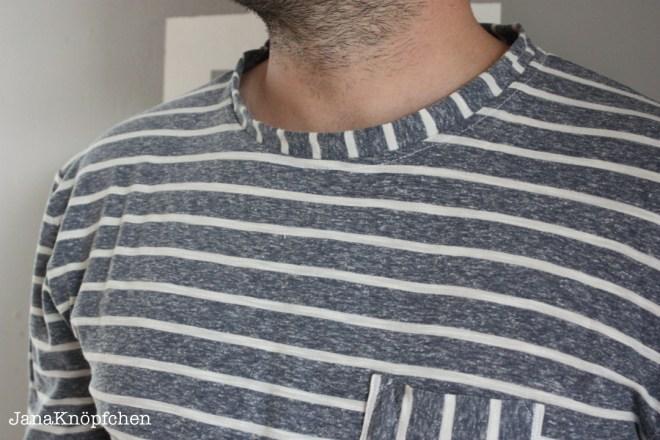 Beitragsbild T-shirt für Männer. Schnitt Max von Pattydoo. JanaKnöpfchen Nähblog. Nähen für jungs