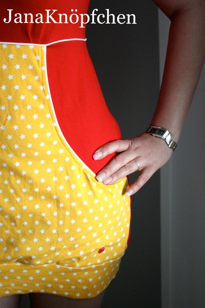 Nähwerk Kleid Martha Schnitt von das Milchmonster für eine Freundin genäht. JanaKnöpfchen - Nähen für jungs