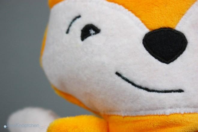 Kuscheltier Fuchs nähen. Fuchs Fred von Kullaloo selbstgenäht. JanaKnöpfchen - Nähen für Jungs