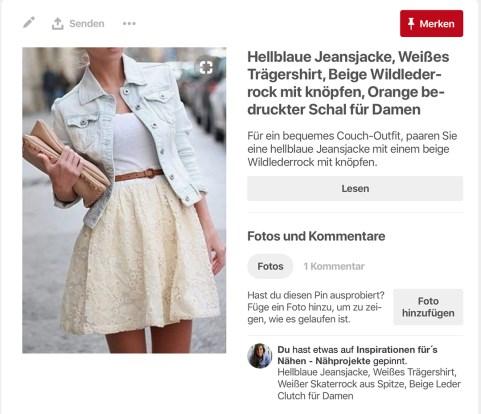 Pinterest-inspiration kurzen selbstgenähten Faltenrock. JanaKnöpfchen - Nähen für Jungs