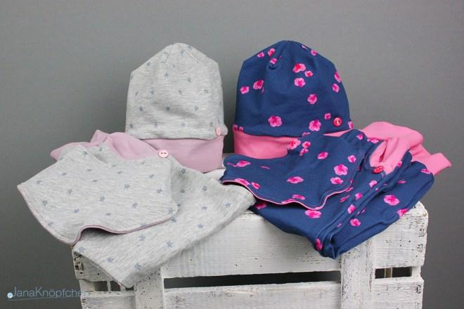 Blogpost für kleine Mädchen genäht - Babyset selbstgenäht. JanaKnöpfchen - Nähen für Jungs