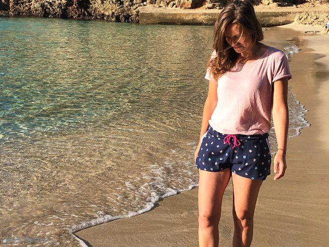 Blogpost Sommershorts nähen für Frauen. JanaKnöpfchen - Nähen für Jungs