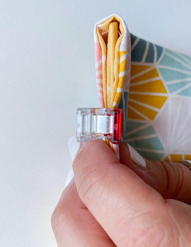Tutorial Urlaubstipp Messer-Tasche nähen. Detail Seitennaht. JanaKnöpfchen - Nähen für Jungs