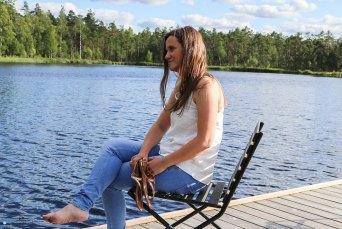 Sommertop aus Webware für Frauen nähen. JanaKnöpfchen - Nähen für Jungs