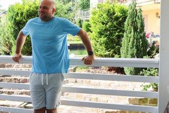 Selbstgenähte Joggingshorts für Männer. JanaKnöpfchen - Nähen für Jungs