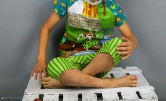 Findus-Schlafanzug genäht für Jungs. JanaKnöpfchen - Nähen für Jungs