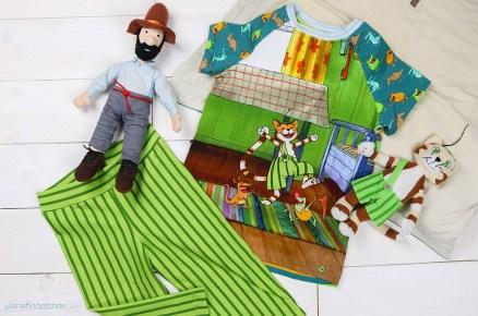 Findus Schlafanzug nähen für Jungs. JanaKnöpfchen - Nähblog