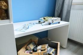 Lego-Bautisch im Kinderzimmer. JanaKnöpfchen - Nähen für Jungs