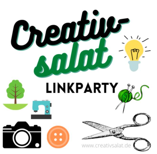 Linkparty Creativsalat für DIY und Nähblogger.