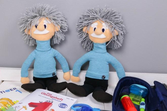 Klassenmaskottchen Albert Einstein Puppen nähen. JanaKnöpfchen - Nähen für Jungs