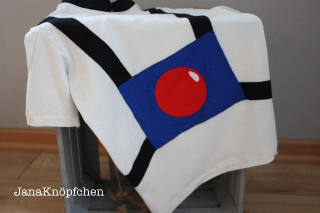 Astronauten T-Shirt nähen zum Geburtstag für Jungs. JanaKnöpfchen - Nähen für Jungs