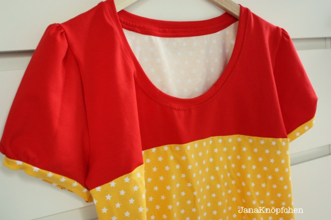 T-shirt Liv nähen für Frauen. JanaKnöpfchen - Nähen für Jungs