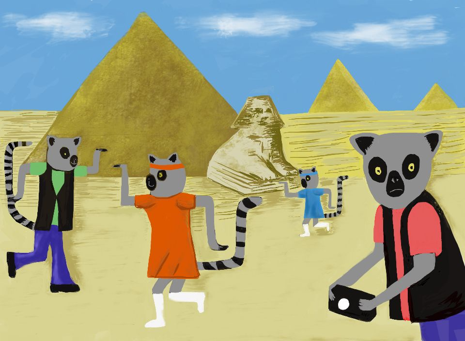 Egyptian tourists