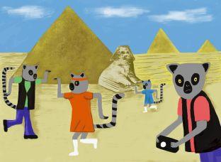 Egyptian tourists