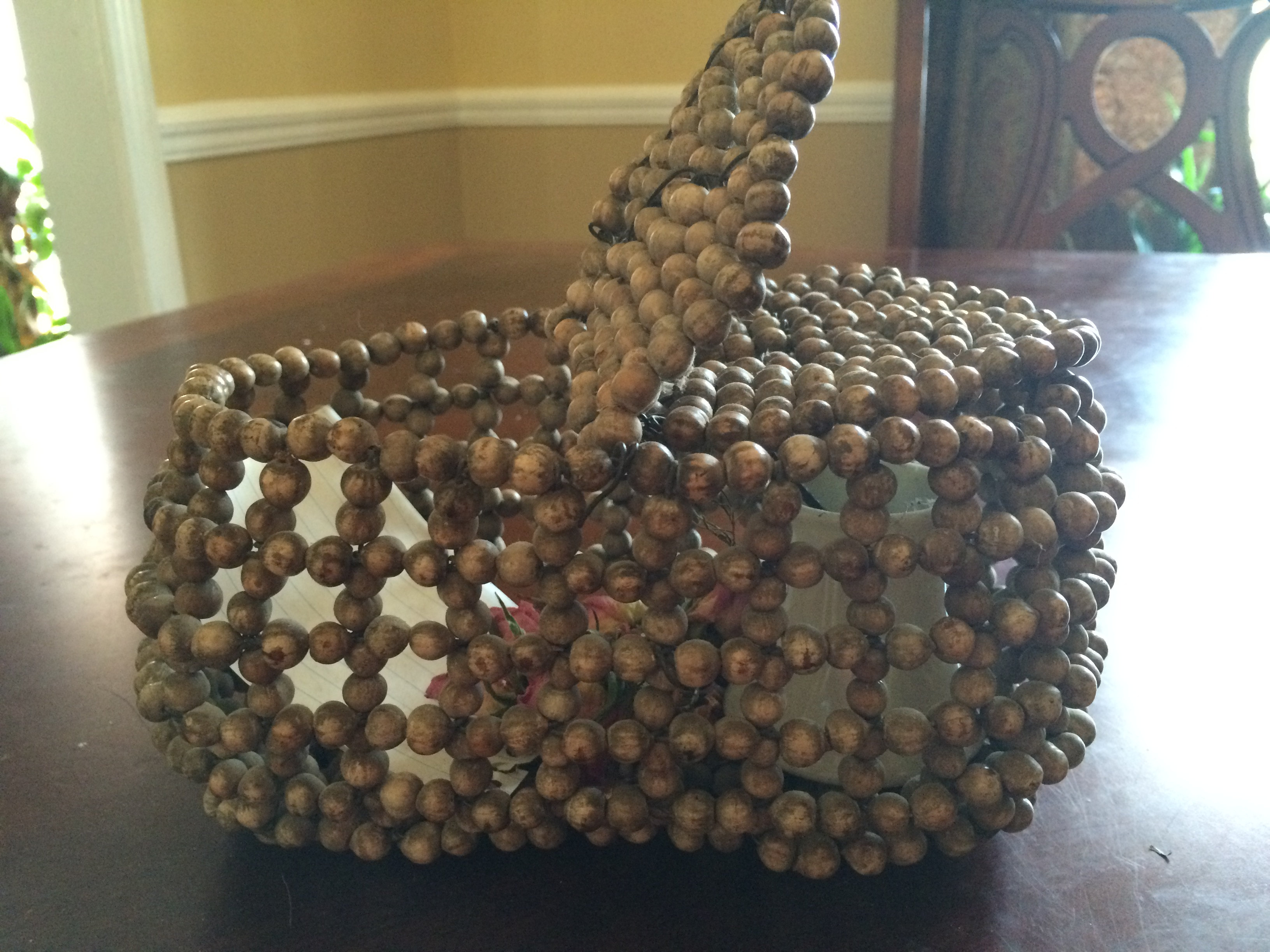 The Mystery Of The Corn Bead Basket