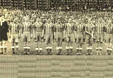 Die Eintracht Braunschweig in Dresden 1943