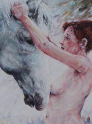 Naakt en paard