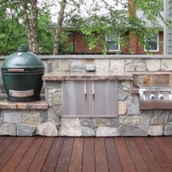Grill For Outdoor Kitchen The Fat Burning Designs Installation J Landscape Management Inc Custom Kitchens