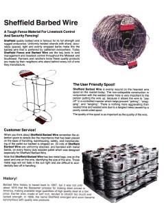 sheffield barbed wire-https://www.jandnfeedandseed.com