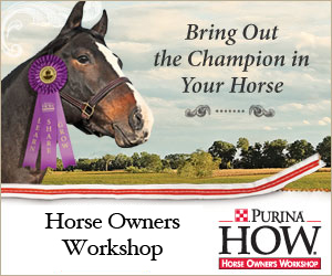 purina horse owner's workshop-https://www.jandnfeedandseed.com