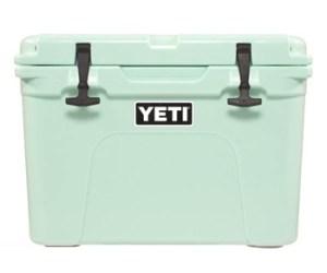 yeti limited edition seafoam green