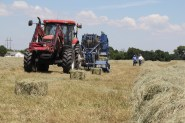 Hay baling supplies at J&N Feed and Seed in Graham, Texas