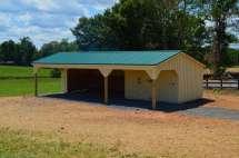 Shed Row Horse Barns